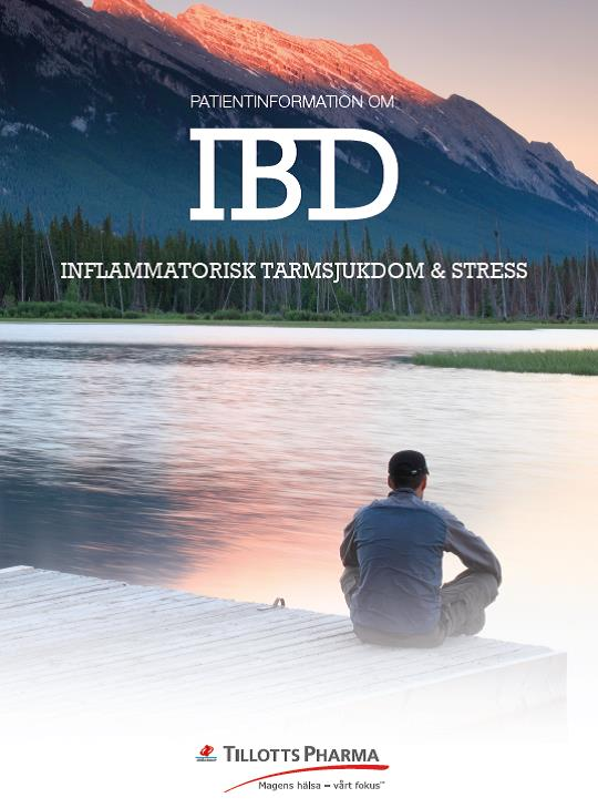 Patientinformation om IBD och stress